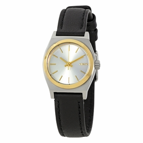 Nixon A5091884 Small Time Teller Leather Ladies Quartz Watch