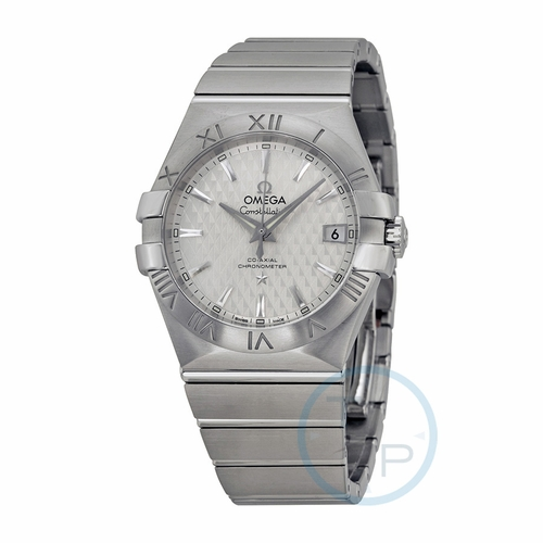 Omega 123.10.35.20.02.002 Constellation Co-Axial Mens Automatic Watch