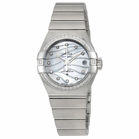 Omega 123.15.27.20.55.002 Constellation Co-Axial Ladies Automatic Watch