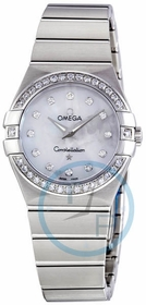 Omega 123.15.27.60.55.001 Constellation Ladies Quartz Watch