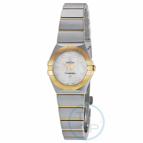 Omega 123.20.24.60.55.002 Constellation Brushed Quartz Ladies Quartz Watch