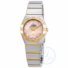 Omega 123.20.24.60.57.004 Constellation Ladies Quartz Watch