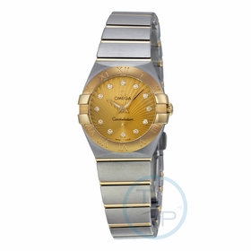 Omega 123.20.24.60.58.001 Constellation 09 Ladies Quartz Watch
