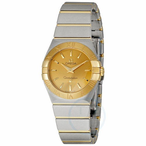 Omega 123.20.27.60.08.001 Constellation Ladies Quartz Watch