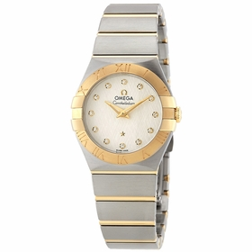Omega 123.20.27.60.52.001 Constellation Ladies Quartz Watch
