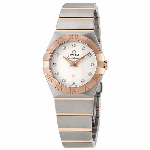 Omega 123.20.27.60.52.002 Constellation Ladies Quartz Watch