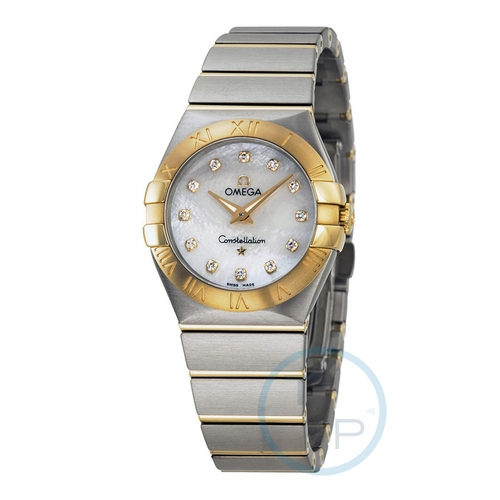 Omega 123.20.27.60.55.002 Constellation Ladies Quartz Watch