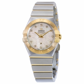 Omega 123.20.27.60.55.008 Constellation Ladies Quartz Watch