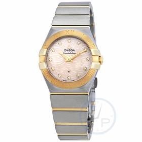 Omega 123.20.27.60.57.005 Constellation Ladies Quartz Watch