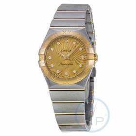 Omega 123.20.27.60.58.001 Constellation 09 Ladies Quartz Watch