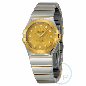 Omega 123.20.27.60.58.002 Constellation Ladies Quartz Watch