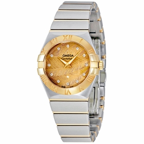 Omega 123.20.27.60.58.003 Constellation Ladies Quartz Watch