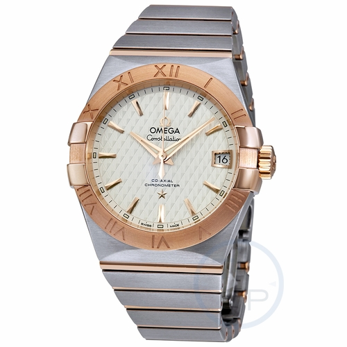 Omega 123.20.38.21.02.008 Constellation Co-Axial Mens Automatic Watch