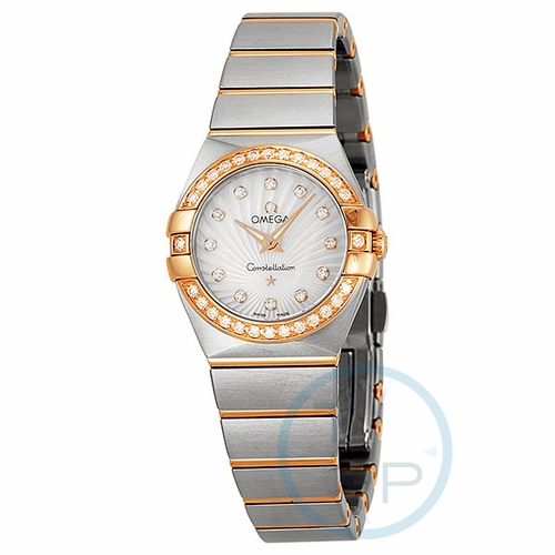 Omega 123.25.24.60.55.002 Constellation Ladies Quartz Watch