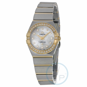Omega 123.25.24.60.55.003 Constellation Ladies Quartz Watch