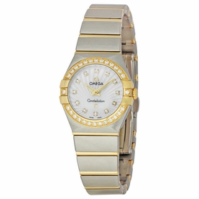 Omega 123.25.24.60.55.004 Constellation 09 Ladies Quartz Watch