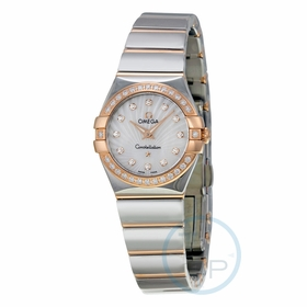 Omega 123.25.24.60.55.006 Constellation Ladies Quartz Watch