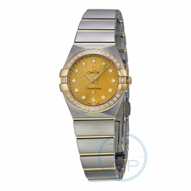 Omega 123.25.24.60.58.001 Constellation Ladies Quartz Watch