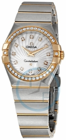 Omega 123.25.27.60.55.002 Constellation Ladies Quartz Watch
