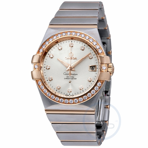 Omega 123.25.35.20.52.001 Constellation Mens Automatic Watch