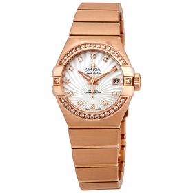 Omega 123.55.27.20.55.001 Constellation Ladies Quartz Watch