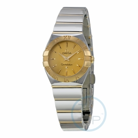 Omega 12320246008002 Constellation Ladies Quartz Watch