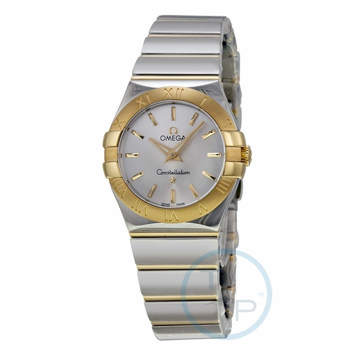 Omega 12320276002004 Constellation Ladies Quartz Watch