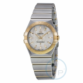Omega 12320276005002 Constellation Ladies Quartz Watch