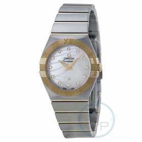 Omega 123.20.27.60.55.005 Constellation Ladies Quartz Watch