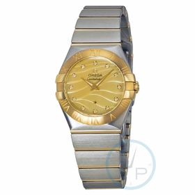 Omega 123.20.27.60.57.001 Constellation Ladies Quartz Watch