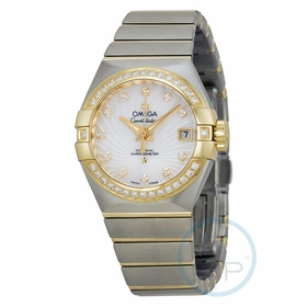 Omega 12325272055002 Constellation Chronometer Ladies Automatic Watch