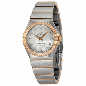 Omega 123.25.27.60.55.001 Constellation Brushed Ladies Quartz Watch