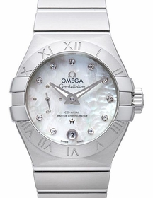 Omega 127.10.27.20.55.001 Constellation Ladies Automatic Watch