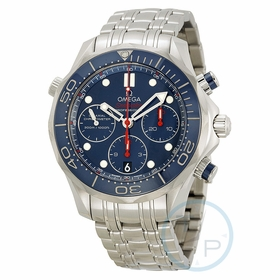 Omega 212.30.42.50.03.001 Seamaster Diver 300 Co-Axial Chronograph Mens Chronograph Automatic Watch