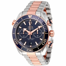 Omega 215.20.46.51.03.001 Seamaster Planet Ocean Mens Chronograph Automatic Watch