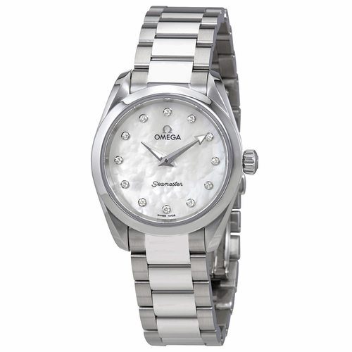 Omega 220.10.28.60.55.001 Seamaster Aqua Terra Ladies Quartz Watch