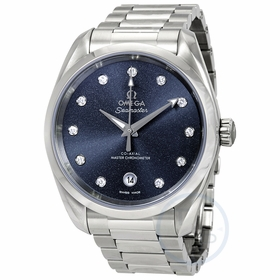Omega 220.10.38.20.53.001 Seamaster Aqua Terra Ladies Automatic Watch