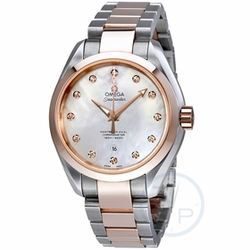 Omega 231.20.34.20.55.001 Seamaster Aqua Terra Ladies Automatic Watch