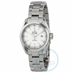 Omega 23110306002001 Seamaster Aqua Terra Ladies Quartz Watch