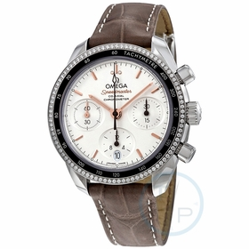 Omega 324.38.38.50.02.001 Speedmaster Ladies Chronograph Automatic Watch