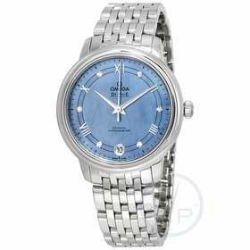 Omega 424.10.33.20.57.001 De Ville Prestige Ladies Automatic Watch
