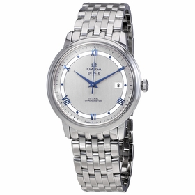 Omega 424.10.40.20.02.001 De Ville Prestige Co-Axial Mens Automatic Watch