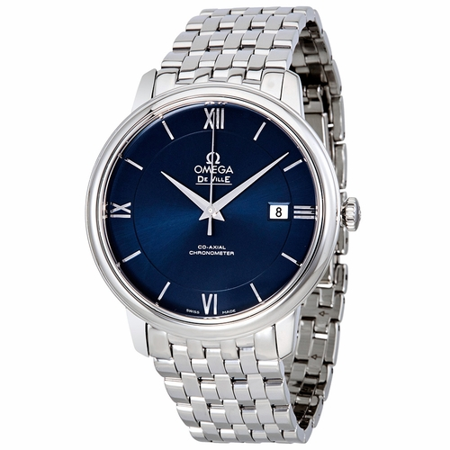 Omega 424.10.40.20.03.001 De Ville Prestige Mens Automatic Watch
