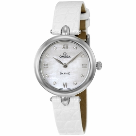 Omega 424.13.27.60.55.001 De Ville Prestige Ladies Quartz Watch