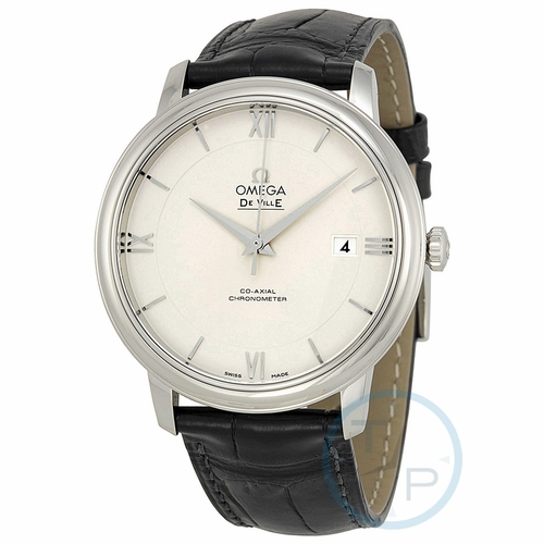 Omega 424.13.40.20.02.001 De Ville Prestige Mens Automatic Watch