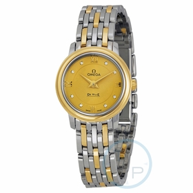 Omega 424.20.24.60.58.001 De Ville Prestige Ladies Quartz Watch