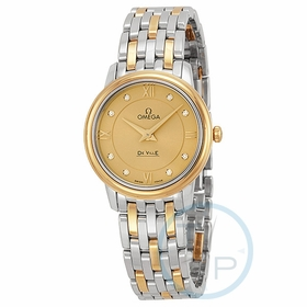 Omega 424.20.27.60.58.001 De Ville Prestige Ladies Quartz Watch