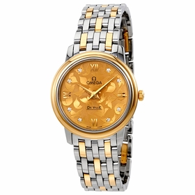 Omega 424.20.27.60.58.002 De Ville Prestige Butterfly Ladies Quartz Watch