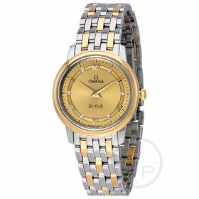 Omega 424.20.27.60.58.003 De Ville Prestige Ladies Quartz Watch