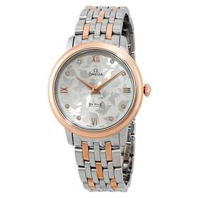 Omega 424.20.33.60.52.001 De Ville Prestige Ladies Quartz Watch